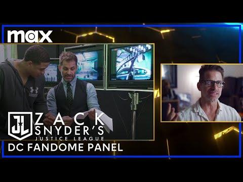 Zack Snyder's Justice League 'DC FanDome' Panel