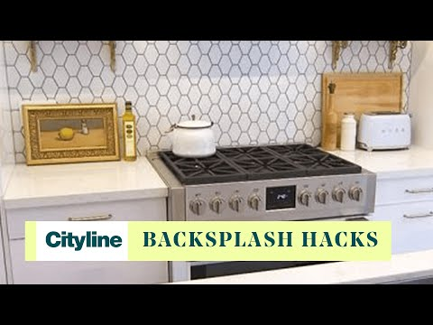 Inexpensive Backsplashes For Kitchens Imperial Kitchen Equipment 3 Diy Backsplash Ideas That Will Blow You Away Youtube