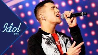 Liam Cacatian Thomassen - With you   Idol Sverige 2016 (TV4)