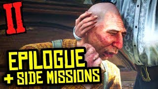 [SPOILERS] Epilogue, Side Missions, Money Making | Red Dead Redemption 2