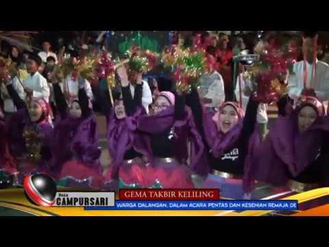 GEMA TAKBIR KELILING CAMPURSARI 2017 - DUSUN DALANGAN