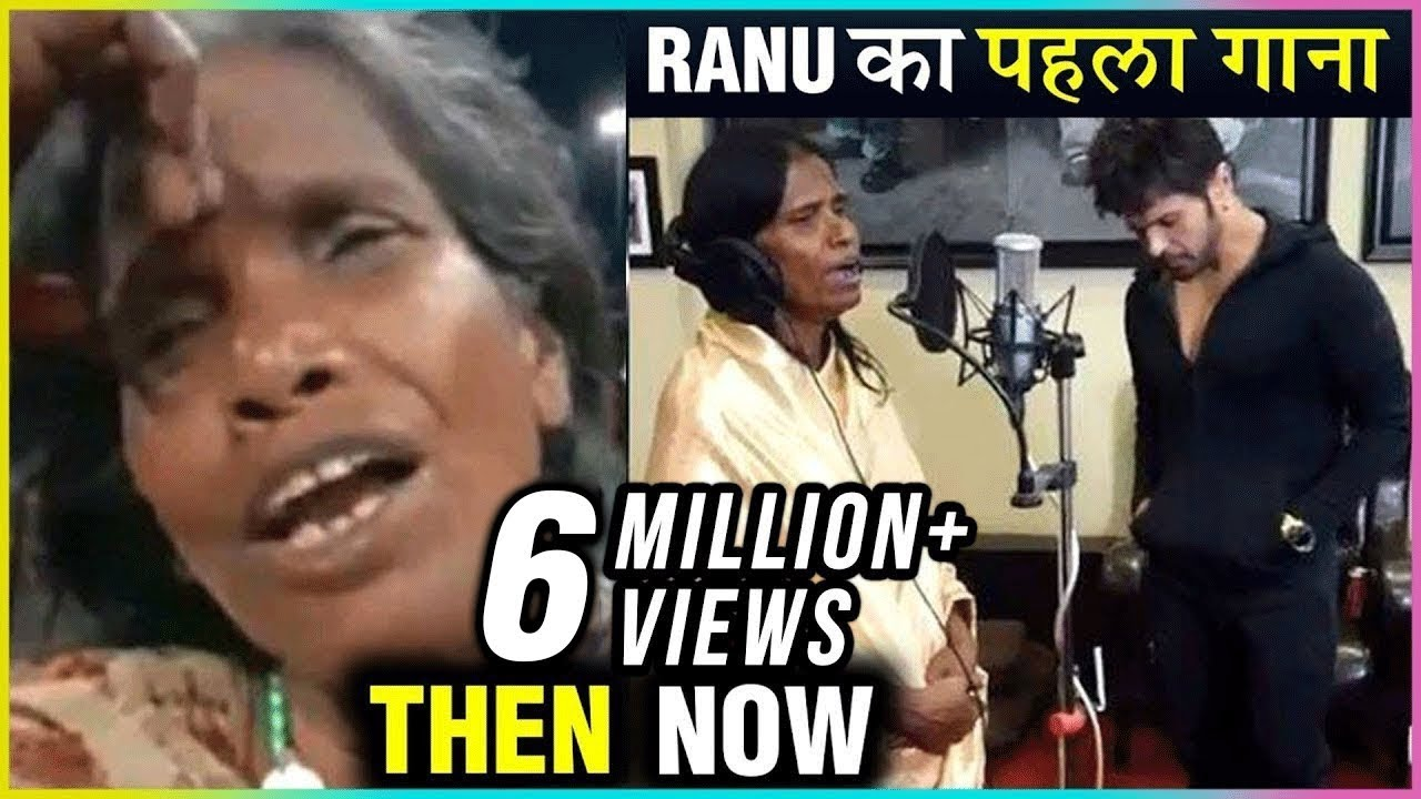 Ranu Mondal Records Her First Song With Himesh Reshammiya