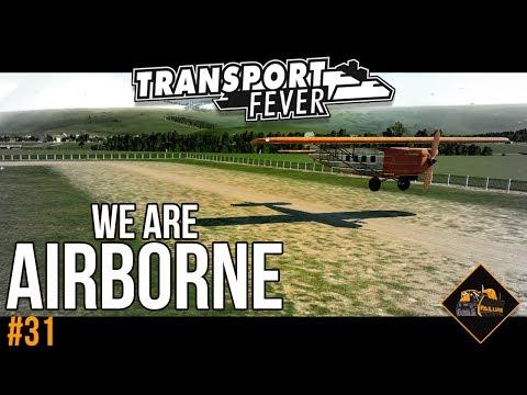 Let's get airborne | Transport Fever Planes The Alps #31