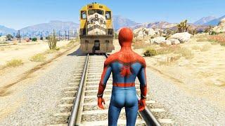 GTA 5: Playing As SPIDERMAN (GTA 5 Spider-Man Mod)