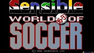 Sensible World of Soccer 96/97 gameplay (PC Game, 1996)