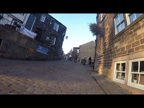 Bronte Village High Street Howarth Yorkshire #Bronte