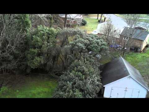 Gardner Park x5c-1 drone test 2 Gastonia nc