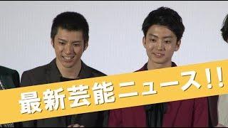 21日、都内で行われた映画『デメキン』の完成披露上映会に、主演の健太...