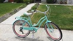 Schwinn 26'' Perla Women's Cruiser Bicycle ll 18 Inch Step Through Steel Frame Bike 2019