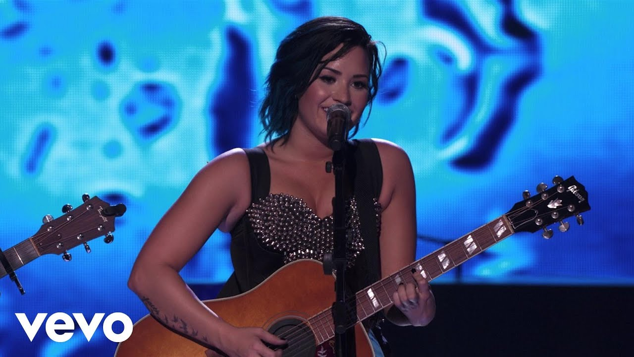 Demi lovato dont forget catch me acoustic medley vevo demi lovato dont forget catch me acoustic medley vevo certified superfanfest youtube hexwebz Gallery