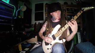 NEW DYING FETUS Guitar Cover Seething With Disdain 4K