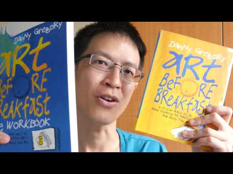 Book Review: Art Before Breakfast & Its Workbook by Danny Gregory