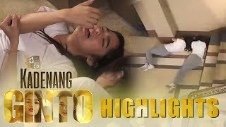 Kadenang Ginto: Cassie at Marga, nahulog sa hagdan sa kanilang pag aaway | EP 68