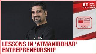 Zoho Founder Sridhar Vembu Shares Lessons In Life, Entrepreneurship & Spirituality