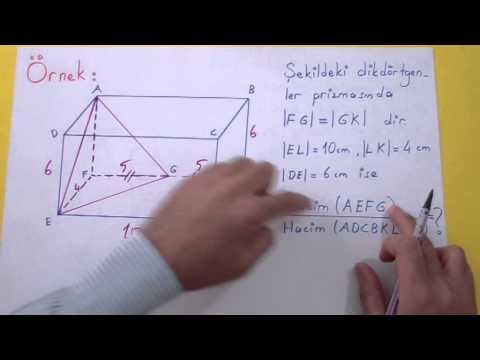 Piramitte Hacim Şenol Hoca Matematik