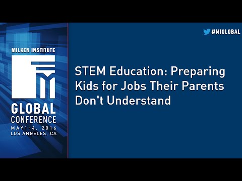 STEM Education: Preparing Kids for Jobs Their Parents Don't Understand