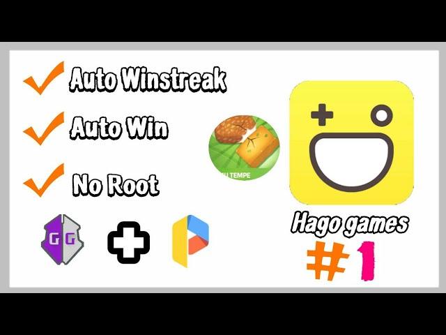 Cara Hack Hago Auto Winn GameGuardian TAHUTEMPE #1 #1