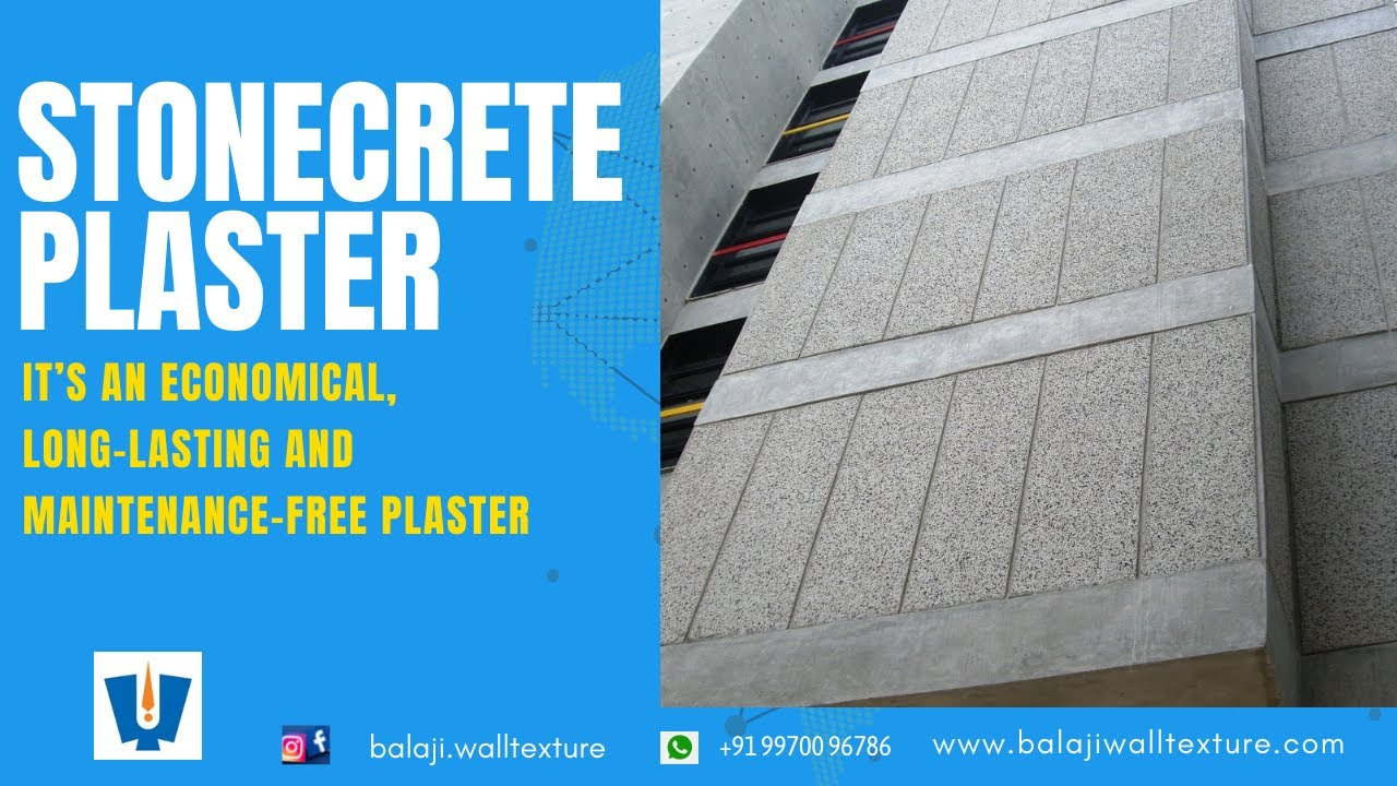 Exposed Aggregate Plaster Stone Crete Plaster Grit Wash