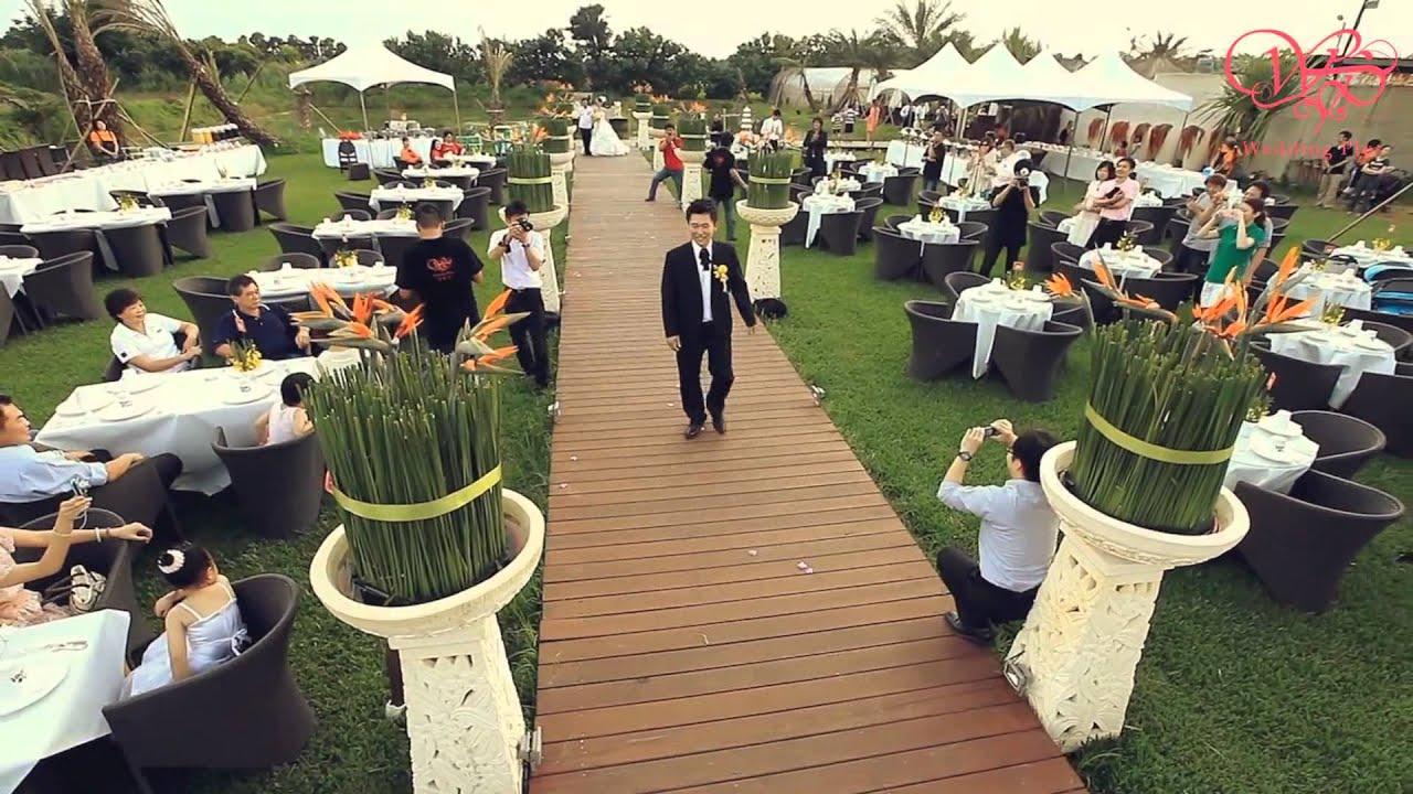 婚禮家峇里島風 戶外婚禮 - YouTube