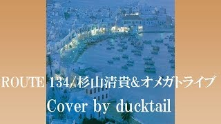 ROUTE 134/杉山清貴&オメガトライブ☆Cover by ducktail★