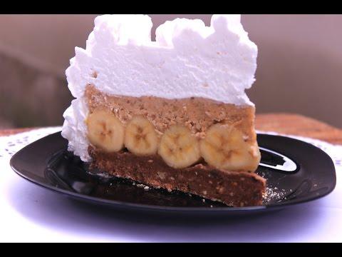 Brza torta sa bananama - POSNA - Bez pečenja i kuvanja