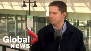 Canada Election: Conservative Party Leader Andrew Scheer makes announcement in B.C.