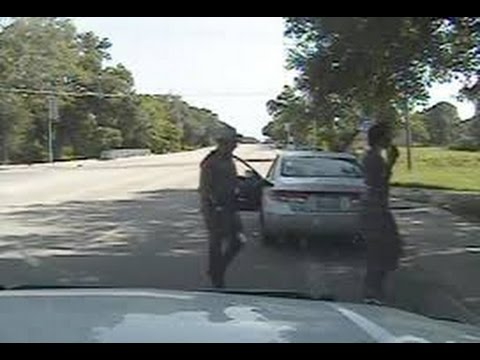 Police Dashcam Video Of Sandra Bland's Arrest