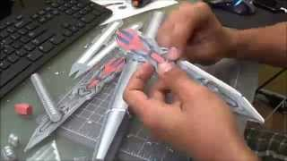 OPTIMUS PRIME AoE (Final- Arms Sword) - Papercraft