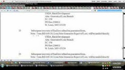04 08 12    The USDA Forms and How to Info on Mortgages flv