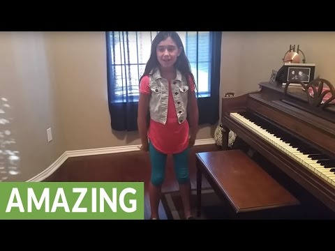 Little Girl Flawlessly Covers Classic Journey Song
