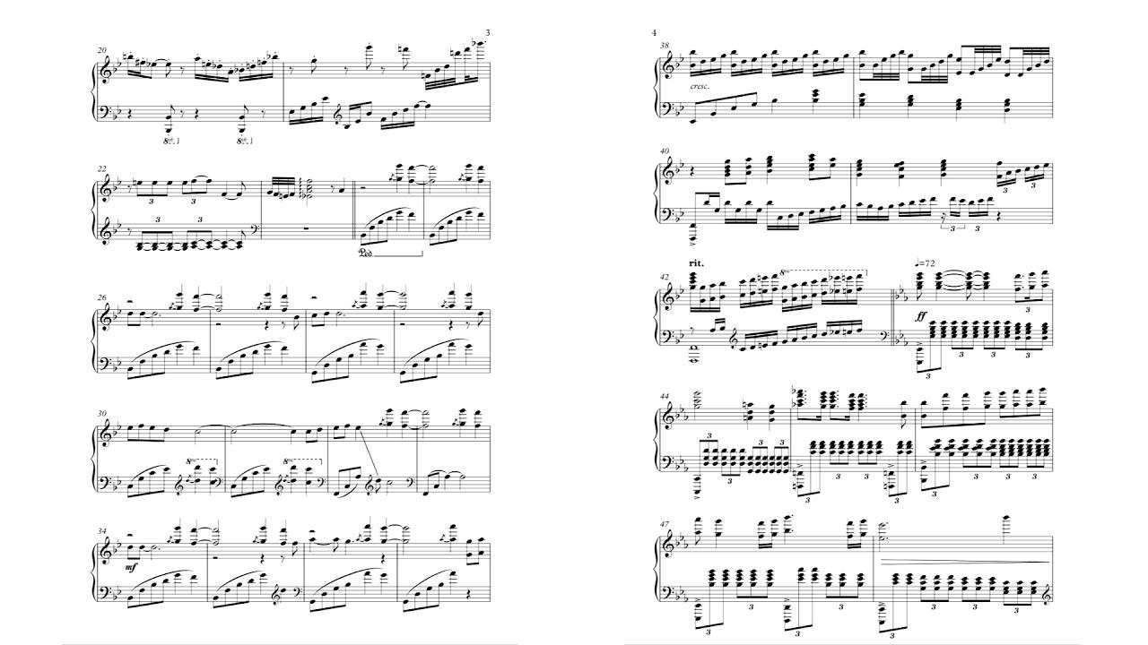 Bohemian rhapsody piano notes easy