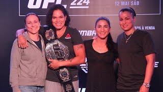 UFC 224: Tecia Torres, Nina Ansaroff Discuss Balancing Friendship, Business For Nunes vs. Pennington