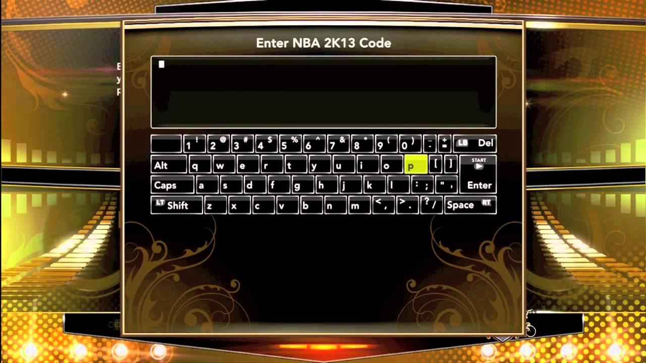 Cheat codes in nba 2k13 youtube.