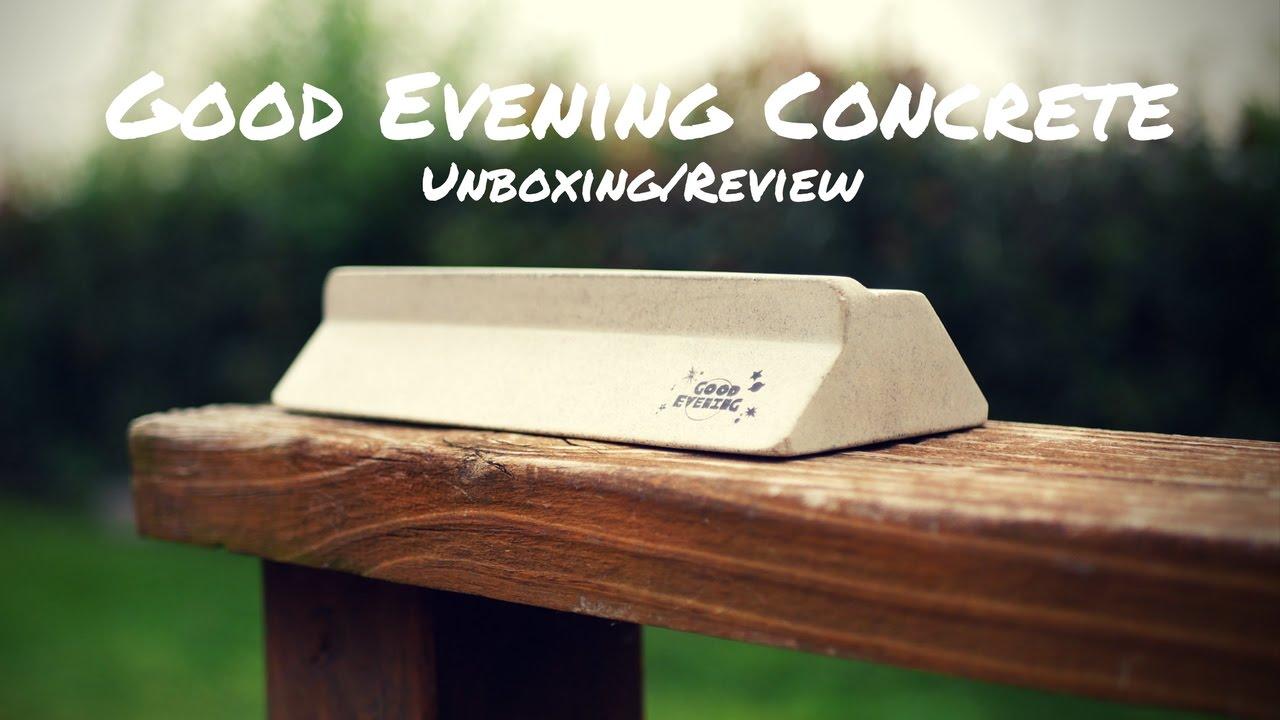 Amazing Concrete Fingerboarding Ledge Good Evening Concrete