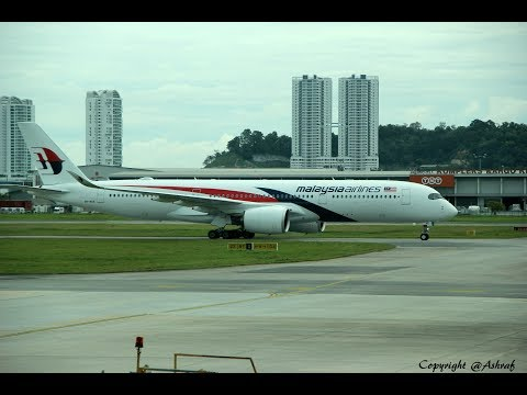(HD) Malaysia Airlines A350 Business Class & AirAsia A320 Flight Review (KUL-PEN-KUL)