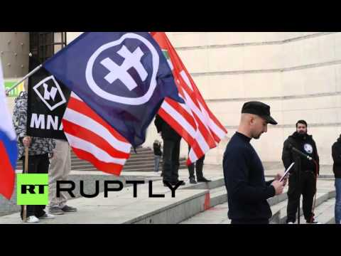 Slovakia: Far-right protesters rally against immigration and the EU