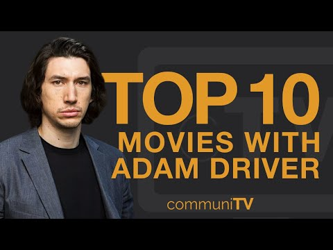 Top 10 Adam Driver Movies