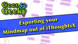 Exporting out of iThoughtX