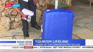 Tourism sector hopeful of business after the lifting of curfew