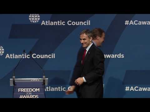 Wroclaw Global Forum 2016 - Atlantic Council Freedom Awards - Part 1