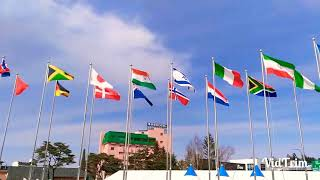 Indian flag at winter Olympics 2018