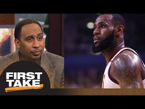 Stephen A. Smith goes off on LeBron James for his 'excuses' about struggles | First Take | ESPN