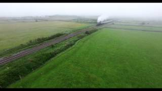 Steam Train From Athenry To Galway City 2015