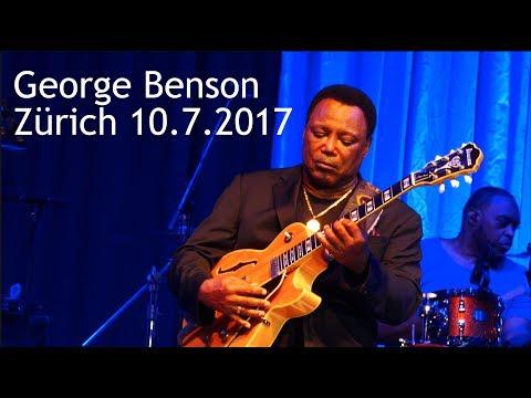 George Benson Zürich 10. July 2017