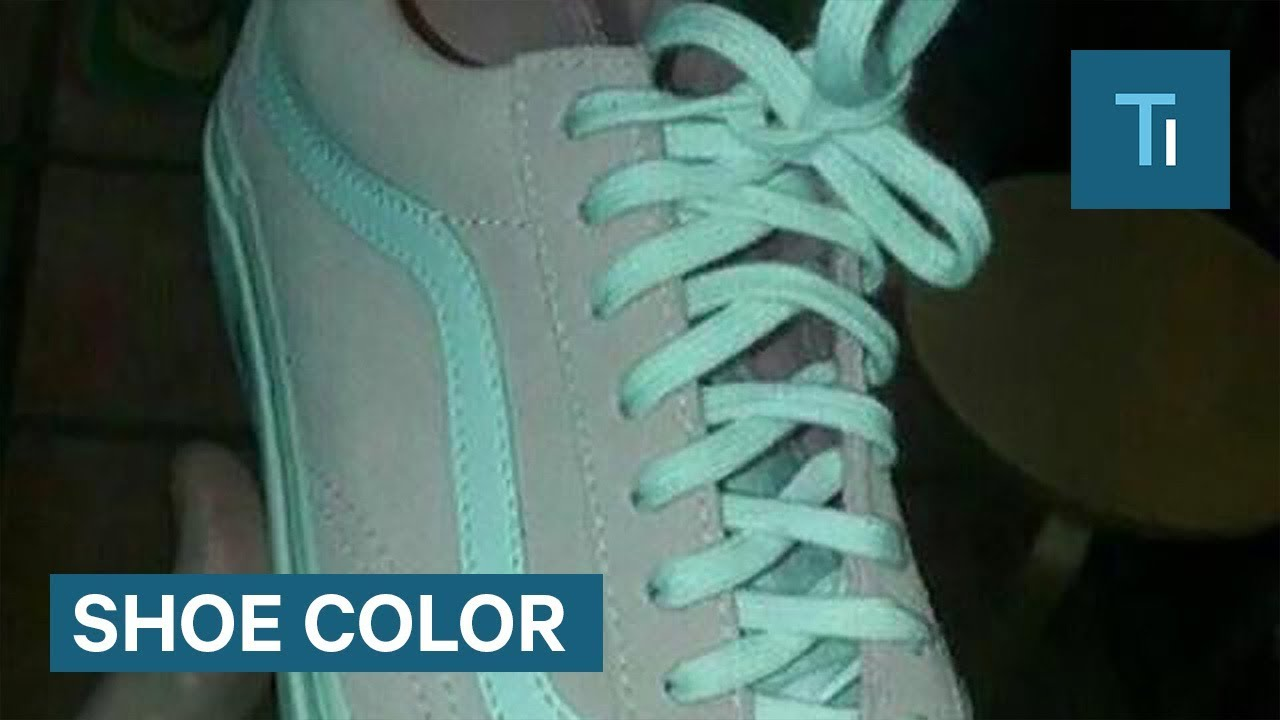 People On Twitter Can't Tell If These Sneakers Are Pink Or Gray
