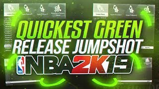 CONTESTED GREENS FROM HALFCOURT!! BEST JUMPSHOT ON NBA 2K19?! AUTOMATIC GREEN LIGHTS!