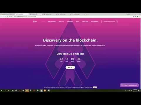 💎Tip Blockchain💎 Mass adoption powered by Discovery on the blockchain