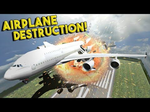 MASSIVE AIRPLANE DESTRUCTION & MORE! - Disassembly 3D Gameplay - EP 4