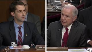 Sessions disputes Comey testimony to Sen. Cotton