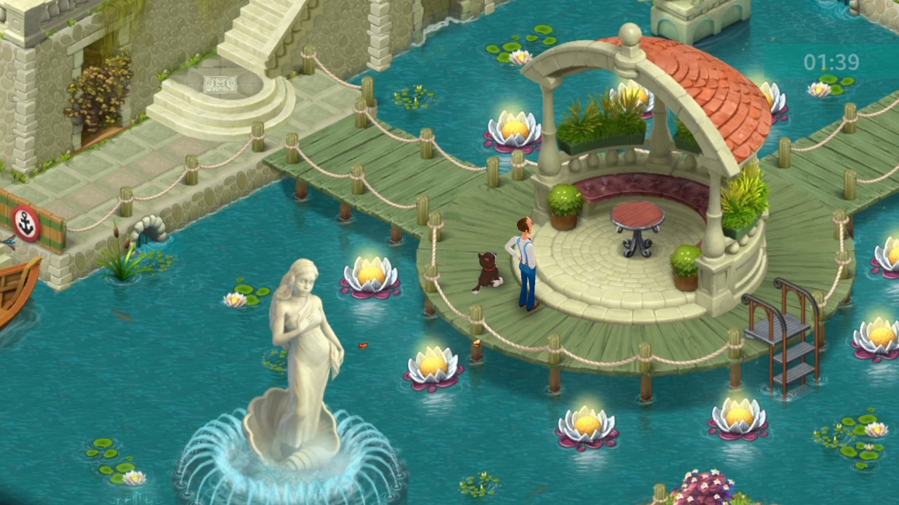Captivating Gardenscape 1176